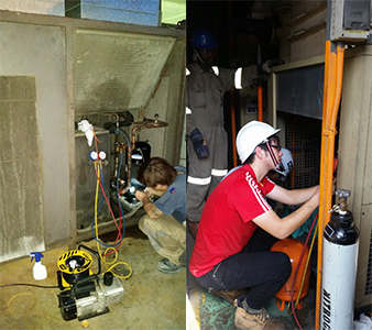 air condenser service and repair 09